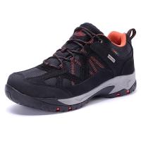 TFO  登山鞋 运动徒步低帮透气舒适高弹减震登山鞋842543 男款黑色/暗橙色 42