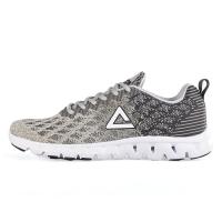 匹克(PEAK)时尚运动鞋  男跑步鞋DH610327 冰川灰/城堡灰 41码