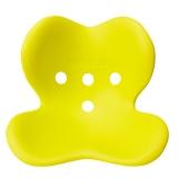 MTG 日本 Style Kids 矫正上课坐姿 防驼背 保护脊椎 儿童矫姿坐垫 L号 黄绿色 适用身高125cm-155cm
