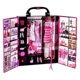 芭比(Barbie)女孩娃娃玩具 梦幻衣橱(带娃娃)X4833
