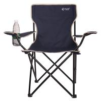 红色营地 折叠椅 钓鱼椅子 沙滩休闲椅 简约靠背椅 户外扶手椅子 Y100丈青