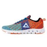匹克(PEAK)时尚运动鞋  男跑步鞋DH610327 奶玉色/荧光橙 41码