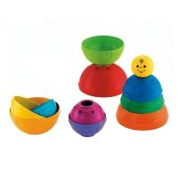 费雪 益智玩具 层叠彩虹杯K7166