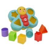 费雪(Fisher Price)益智玩具 积木盒 叠叠乐小蝴蝶配对盒CDC22