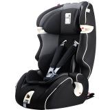 Kiwy原装进口汽车儿童安全座椅 无敌浩克 isofix硬接口 9个月-12岁宝宝车载座椅 典雅黑