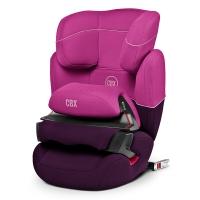 cybex AURA- FIX 宝宝汽车儿童安全座椅 适合约9个月-12岁(紫雨粉)
