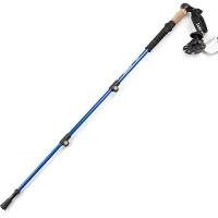 ALPINT MOUNTAIN埃爾蒙特7075鋁合金登山杖 外鎖手杖徒步登山 610-201 藍色