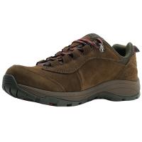 埃尔蒙特 ALPINT MOUNTAIN户外男女登山鞋徒步鞋运动鞋耐磨防滑户外鞋真皮透气工装鞋子 640-816 油泥 44