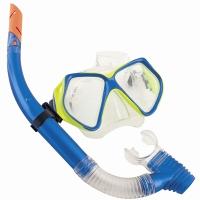 Bestway潜水镜浮潜套装潜水装备 钢化玻璃镜片(14岁以上青少年适用)24003 蓝色
