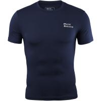 埃尔蒙特 ALPINT MOUNTAIN 男运动户外紧身衣 健身快干弹力短袖T恤 650-506 藏青 XL