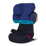 cybex SOLUTION X2-FIX 宝宝汽车儿童安全座椅 isofix接口 适合约3-12岁(月光蓝)