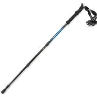埃尔蒙特 户外登山杖 碳素碳纤维手杖三节徒步登山 610-202 蓝色
