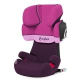 cybex SOLUTION X2-FIX 宝宝汽车儿童安全座椅 isofix接口 适合约3-12岁(紫雨粉)