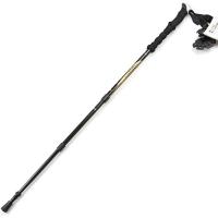 埃尔蒙特 户外登山杖 碳素碳纤维手杖三节徒步登山 610-202 金色