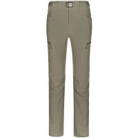 ALPINT MOUNTAIN埃尔蒙特 户外男士速干裤快干登山运动休闲裤 630-112男款 卡其 XL
