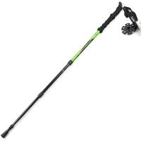 埃尔蒙特 户外登山杖 碳素碳纤维手杖三节徒步登山 610-202 绿色