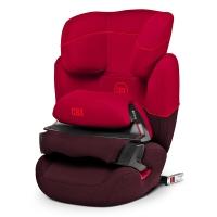cybex AURA- FIX 宝宝汽车儿童安全座椅 适合约9个月-12岁(伦巴红)
