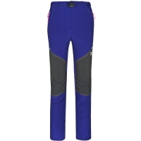 ALPINT MOUNTAIN埃爾蒙特 戶外情侶男女款攀巖褲登山褲防潑水 630-204女款 紫蘭 XL