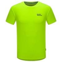 埃尔蒙特ALPINT MOUNTAIN 春夏情侣快干T恤 户外短袖吸湿排汗T恤 630-522 黄色 XXXL