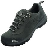 埃尔蒙特 ALPINT MOUNTAIN户外男女登山鞋徒步鞋运动鞋耐磨防滑户外鞋真皮透气工装鞋子 640-816 灰色 43