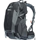 埃尔蒙特ALPINT MOUNTAIN 登山包双肩包附带防雨罩40L 610-024 黑色