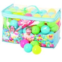 Bestway儿童彩色海洋球套装(100个游戏球 波波球)52027