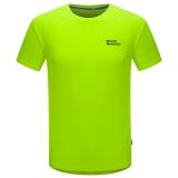 埃尔蒙特ALPINT MOUNTAIN 春夏情侣快干T恤 户外短袖吸湿排汗T恤 630-522 黄色 XXL