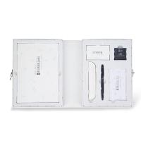 kinbor硬笔书法文具礼盒套装(2本临摹练字帖/钢笔/墨水/便签本)KTQ25062