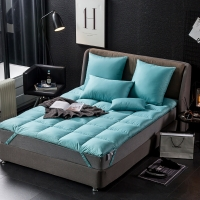 格兰贝恩(Globon)家纺 床垫床褥 羽绒鹅毛榻榻米垫被 松石绿 填充量4.5kg 150*200cm