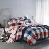 多喜爱(Dohia)床品套件 全棉加厚磨毛四件套 床单款 自由主义 双人 1.5米床 200*230cm