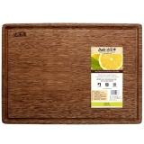 达乐丰 实木砧板 鸡翅木欧式水槽板 菜板案板TJ3525(35*25*2cm)