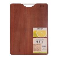 達樂豐檀木菜板 長方形實木砧板 案板切菜板DM3828 (38*28*2cm)