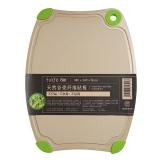 双枪(Suncha)砧板 稻壳砧板切菜板案板面板不伤刀板水果辅食板双面可用 DB4200(23*30*0.8cm)