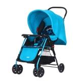 hd小龙哈彼 婴儿推车可坐可躺轻便可折叠宝宝儿童手推车 蓝色LC115T-M329