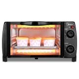 美的(Midea)电烤箱家用多功能 迷你小烤箱T1-L101B 10L