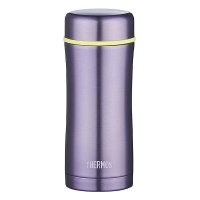 THERMOS膳魔師 400ml高真空不銹鋼戶外運動旅行保溫保冷泡茶杯 TCCG-400 PL