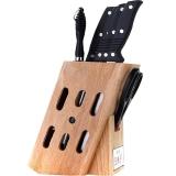 王麻子 刀具套装 塑柄厨房套刀8件套DD08(刀把样式随机发送)