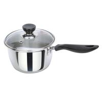 美厨(maxcook)不锈钢奶锅复底16cm 乐厨系列 LN116 可用电磁炉