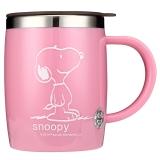Snoopy史努比 420ml不锈钢办公水杯DP-5002R