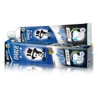 黑人(DARLIE)超白 牙膏 190g(竹炭深洁)(新老包装随机发放)