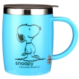 Snoopy史努比 420ml不锈钢办公水杯DP-58002B