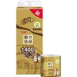 清风(APP)卷纸 原木纯品金装系列 4层140克卫生纸*10卷