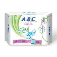 ABC 澳洲茶树精华系列卫生巾 0.1cm轻透薄夜用  瞬爽棉柔表层280mm*8片
