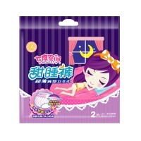 七度空間 (SPACE7)超薄甜睡褲褲型衛生巾M-L碼 2片