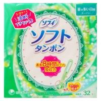 Unicharm尤妮佳内置卫生棉条(多量用 32支)
