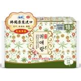 韩国进口苏菲闺艾朗草本夜用卫生巾29cm18片