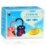 恩芝(Eun jee)猫小菲卫生巾 超值套装 (日用6P+夜用3P)(韩国原装进口)