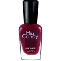 Miss Candy健康指彩环保可撕可剥指甲油 王妃樱桃深红色大红 MG28