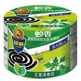 超威 植物艾草清香特大盘40单盘(塑桶)驱蚊