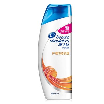 海飞丝去屑护肤洗发水护根防掉发型200ml(男女通用 洗发露 新老包装随机发放)